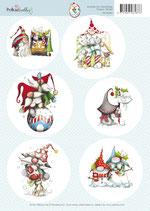Gnome for Christmas topper sheet
