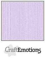 CraftEmotions linnenkarton 10 vel lavendel-pastel 27x13,5cm 250gr / LHC-59