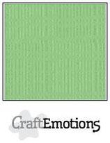 CraftEmotions linnenkarton 10 vel pistache 27x13,5cm 250gr / LHC-64