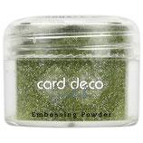 Card Deco Essentials - Embossing Powder Glitter Green 30 Gr