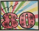 80 jaar kaart