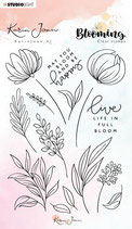 Studio Light Stamp A6 Karin Joan Blooming Collection nr.04