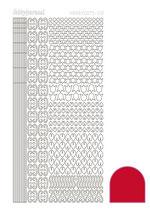 Hobbydots 012 adhesive rood