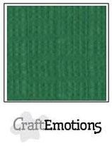 CraftEmotions linnenkarton 10 vel loofgroen 27x13,5cm 250gr / LHC-83