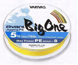 VARIVAS AVANI JIGGING PE BIG ONE - 300mt