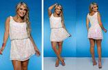 Sommerliches Kleid mit Pailletten