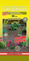 Gärtnerfaser / Abdeckmaterial 60 Liter