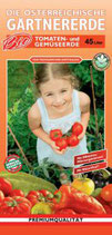 Bio Tomaten und Gemüseerde 45 Liter