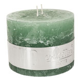 Kerze Rustic green - Höhe 9cm, Ø 12cm