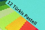 Wendesattelschoner 12 Türkis-Pastell