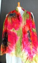 Klatschmohn Schal (ein Feuerwerk an kräftigen Farben)
