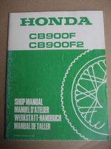 CB 900 F F2 Werkstatthandbuch Erweiterung 1981