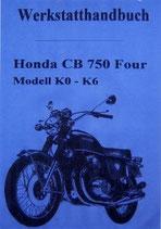 CD Handbücher CB 750 Four