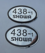 Showa 438 Aufkleber, Gabel