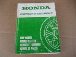 Honda CB 750 F2  K7 Werkstatthandbuch