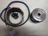 Lichtmaschine Rotor und Stator