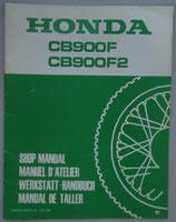 CB 900 F F2 Werkstatt- Handbuch Erweiterung 1983