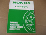Honda CB 750 K Werkstatthandbuch Erweiterung 1979