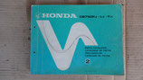 Honda Cb 750 KZ LZ KA   Teile Katalog 2