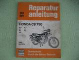 Reparaturanleitung Honda CB 750