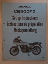 CB 900 F2 Montageanleitung