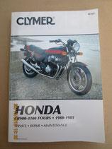 Clymer  Honda CB 900 - 1100 Fours 1980 - 1983
