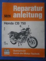 Reparaturanleitung Honda CB 750 K/F ab 1979