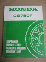 CB 750 F Werkstatthandbuch Erweiterung 1980