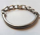 Einzelstück, 835er Silber Armkette, Armreif