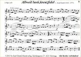 """""""Allweil lusti, kreuzfidel"""" (Polka schnell) von Karl Derntl MB"""