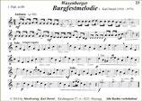 """""""Burgfestmelodie"""" (Orig.Titel: Waxenberger Burgfestmelodie) Solo für Flügelhorn"""