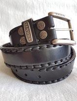 Sendra Boots 7580 Leder Gürtel Schwarz