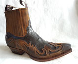 Sendra 4660 Camello/Braun Boots Stiefelette Cowboystiefel