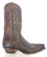 Sendra-3241-Boots-braun-antic-Barbados-Stiefel-Cowboystiefel