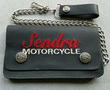 Sendra Boots Geldbörse Motorcycle Biker Wallet Leder Geldbeutel