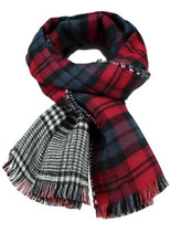 Key Largo Herren / Damen Unisex Schal SQUARE scarf MA00051 dark red