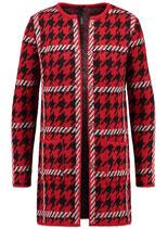 Key Largo Damen Pullover Strickjacke CHICK Strickmantel WKN00047 langarm rot