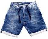 Rerock Herren Jeans-Shorts Bermuda Capri vintage used RR-305 blau