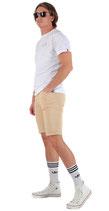 M.O.D Miracle of Denim Herren Shorts Caprihose Bermuda RICARDO warm sand beige
