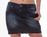 M.O.D Jeans-Minirock SK005 dunkelblau