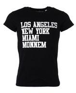 Befamous Herren Club Städte-deine Stadt T-Shirt LNM-MONNEM schwarz rundhals