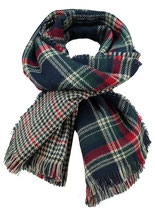 Key Largo Herren / Damen Unisex Schal SQUARE scarf MA00051 dark blue
