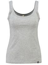 Key Largo Damen T-Shirt Mädchen Frauen Sexy Top LISSY round rundhals WT00232 grau meliert