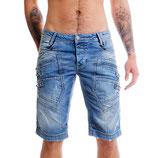 Redbridge Jeans Shorts Capri Bermuda R-31151 blau
