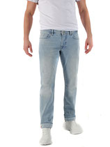 M.O.D Miracle of Denim Herren Jeans Hose THOMAS Comfort Fit Janga blue blau verwaschen