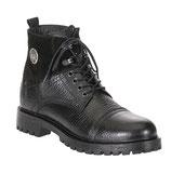 Cipo & Baxx Herren Schuhe Schnürschuhe Halbstiefel High Boots CS114 schwarz