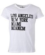 Befamous Herren Club Städte-deine Stadt T-Shirt LNM-MONNEM weiß rundhals