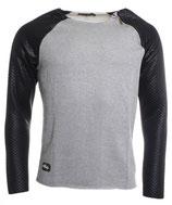 Redbridge Longsleeve Shirt Pullover R-41362 grau