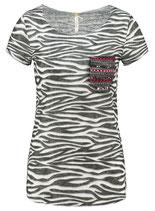 Key Largo Damen T-Shirt EXPLORE round rundhals kurzarm camouflage WT00161 weiß offwhite