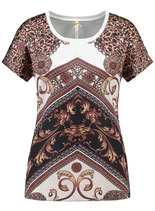 Key Largo Damen T-Shirt  Tunika VEGAS WT00236 weiß offwhite
